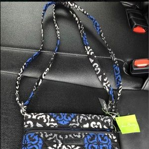 Vera Bradley Double ZIP Hipster purse